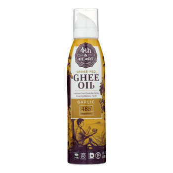 4th & Heart - Ghee/oil Garlic Spray - Case of 6 - 5 OZ