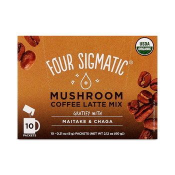 Four Sigmatic - Coffee Latte Lions Mane - 1 Each 1-10 CT