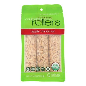 Crunchy Rollers - RollRice Aple Cinnamon - Case of 8-2.6 OZ