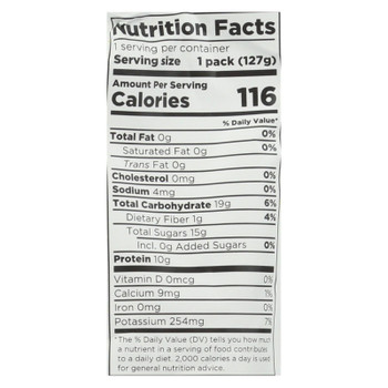 Fuel For Fire Fruit + Protein Fuel Pack - Case of 12 - 4.5 OZ