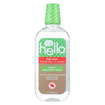Hello Products Llc - Kd Rinse Flride Fr Wtrmln - 1 Each-16 FZ