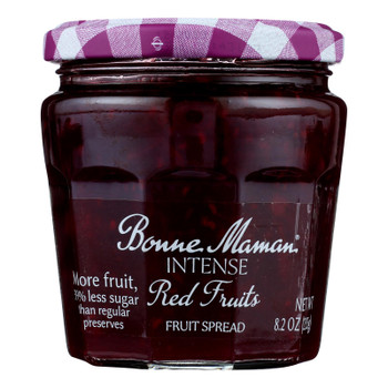 Bonne Maman - Spread Intense Red Fruit - Case of 6 - 8.2 OZ