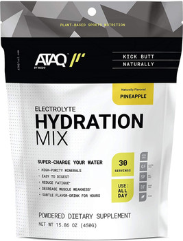 Ataq By Mode - Hydration Mix Pineapple - Case of 16-0.5 OZ