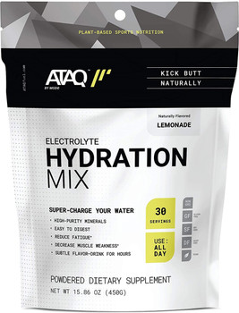 Ataq By Mode - Hydration Mix Lemonade - Case of 16-0.5 OZ