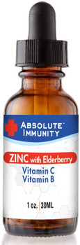 Absolute Immunity - Zinc Conctrte Elderberry - EA of 1-1 OZ
