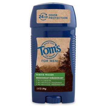Tom's Of Maine - Deodorant Stick Mens North Woods - Case of 6-2.8 OZ