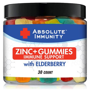 Absolute Immunity - Zinc Conctrt Elderberry - EA of 1-30 CT