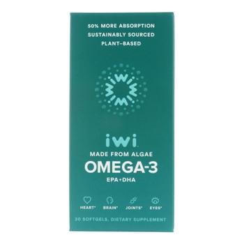 Iwi - Supp Alge Epa/dha Omega3 - EA of 1-30 SGEL