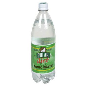 Polar Beverages Tonic - Lime - Diet - Case of 12 - 33.8 fl oz