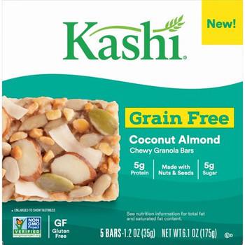 Kashi - Bar Coconut Almond Gr Free - Case of 8 - 5/1.2 OZ