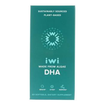Iwi - Supp Algae Dha - EA of 1-60 SGEL