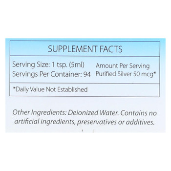 Silver Biotics - Supplmnt Dly Immn Fmly Size - 1 Each 1-16 FZ