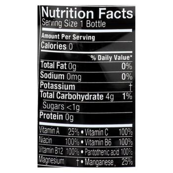 Glaceau Vitaminwater Zero Xxx Acai Blueberry Pomegranate Nutrient-Enhanced Water - Case of 12 - 20 FZ