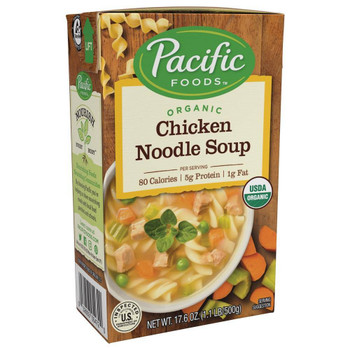Pacific Natural Foods - Soup Chicken Noodle - Case of 12-17 OZ