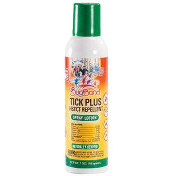 Bug Band - Tick Plus Spray Lotion - Case of 6 - 7 OZ