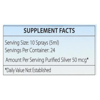 Silver Biotics - Suppl Dly Immun Trvl Spry - 1 Each 1-4 FZ