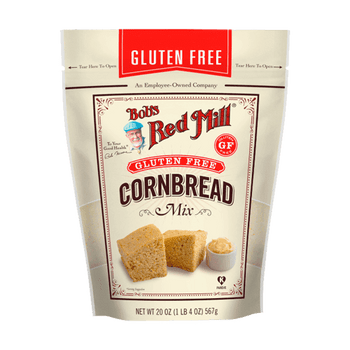 Bob's Red Mill - Cornbread Mix Gluten Free - Case of 4-20 OZ