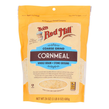 Bob's Red Mill - Cornmeal Course Grind - Case of 4-24 OZ