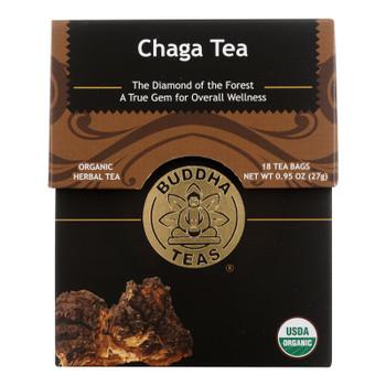 Buddha Teas - Tea Chaga - Case of 6-18 BAG