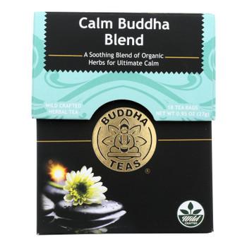 Buddha Teas - Tea Calm Buddha Blend - Case of 6-18 BAG