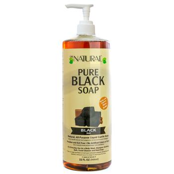 Dr. Natural - Liquid Soap Black - 1 Each 1-32 FZ