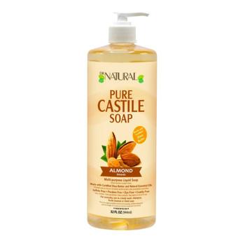 Dr. Natural - Castile Liquid Soap Almond - 1 Each 1-32 FZ