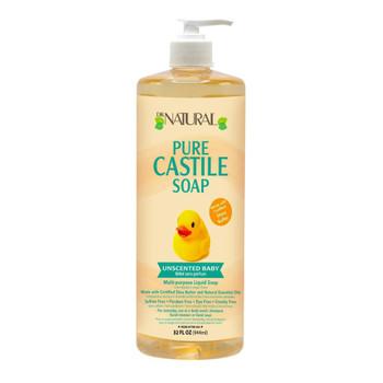 Dr. Natural - Castile Liquid Soap Uns Baby - 1 Each 1-32 FZ