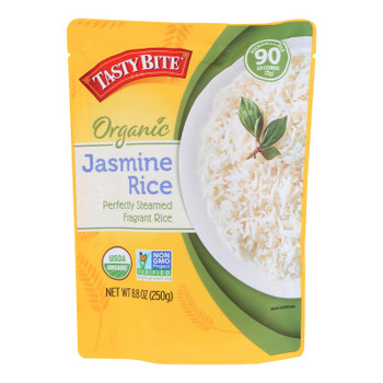Tasty Bite - Rice Jasmine - Case of 12-8.8 OZ