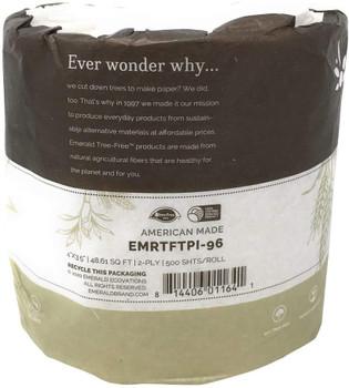 Emerald Brand - Bath Tissue 500 Sheet Rl - CS of 96-1 CT