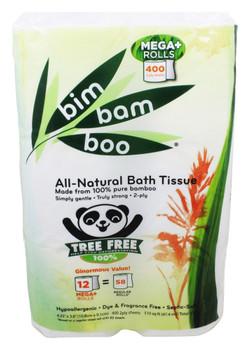 Bim Bam Boo - Bathroom Tissue - Case of 8 - 12 PK