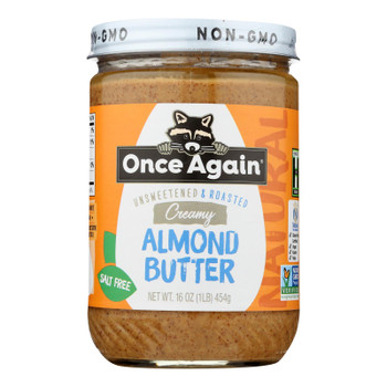Once Again - Almond Butter Smth Ns - Case of 6-16 OZ