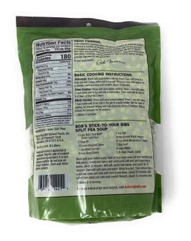 Bob's Red Mill - Peas Split Green - Case of 4-29 OZ