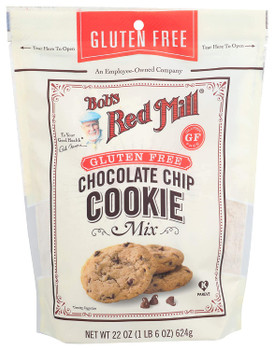 Bob's Red Mill - Cookie Mix Chocolate Chip Gluten Free - Case of 4-22 OZ