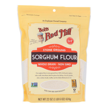 Bob's Red Mill - Flour Sorghum - Case of 4-22 OZ