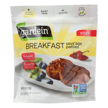 Gardein - Saus Patty Spicy Meatlss - Case of 8 - 8 OZ