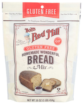 Bob's Red Mill - Bread Mix Homemade Wndrfl Gluten Free - Case of 4-16 OZ