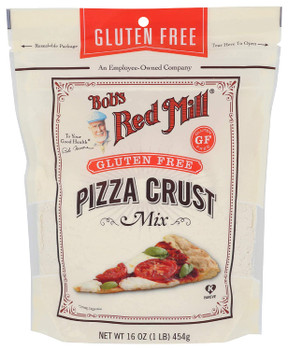 Bob's Red Mill - Pizza Crust Mix Gluten Free - Case of 4-16 OZ