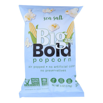 Big And Bold - Popcorn Sea Salt - Case of 6-6 OZ