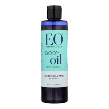 Eo Products - Body Oil Grapefruit & Mint - 1 Each 1-8 OZ