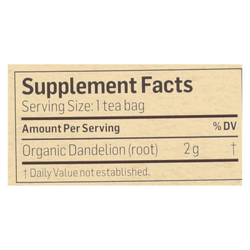 Alvita - Tea Og1 Herbal Dandelion - EA of 1-24 BAG