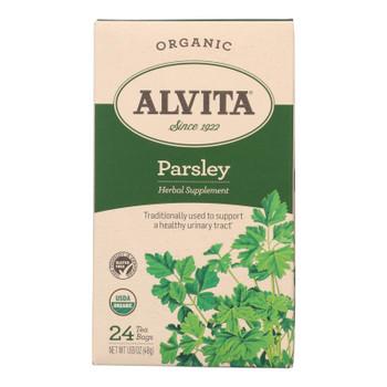 Alvita - Tea Herbal Parsley - 1 Each 1-24 BAG