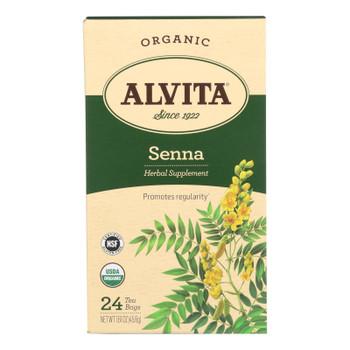 Alvita - Tea Og1 Herbal Senna Leaf - EA of 1-24 BAG