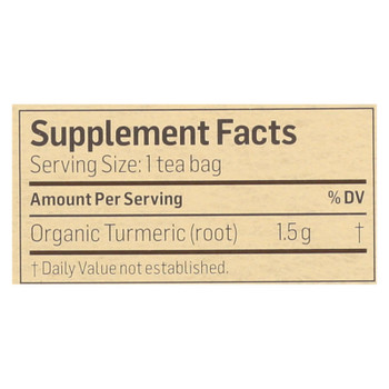 Alvita - Tea Og1 Herbal Turmeric - EA of 1-24 BAG