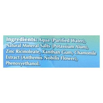 Naturally Fresh Roll On Crystal Deodorant - 3 oz