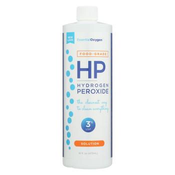 Essential Oxygen Hydrogen Peroxide 3% - Food Grade  - 16 oz