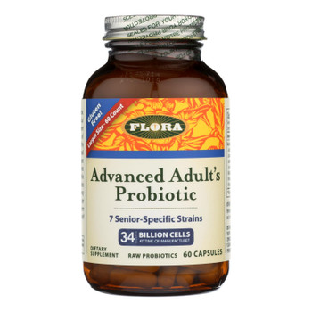 Flora Advanced Adult's Probiotic Dietary Supplement  - 1 Each - 60 CAP