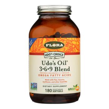 Flora Inc - Udo's Oil 369 Blend - EA of 1-180 SGEL