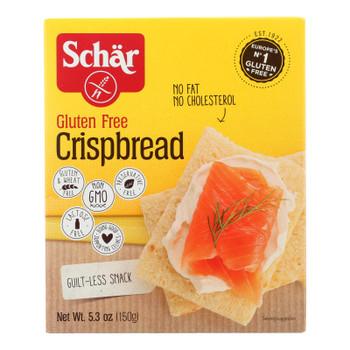 Schar - Crispbread Gluten Free - Case of 6-5.3 OZ