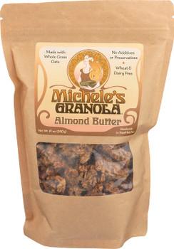 Michele's Granola - Granola Almond Butter - Case of 6-12 OZ