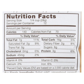 Michele's Granola - Granola Cinnamon Raisin - Case of 6-12 OZ